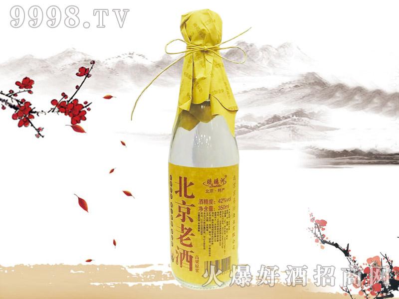 琉璃河北京老酒高粱原浆350ml