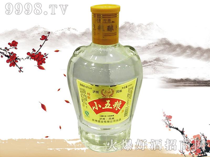 京坤小五粮酒250ml