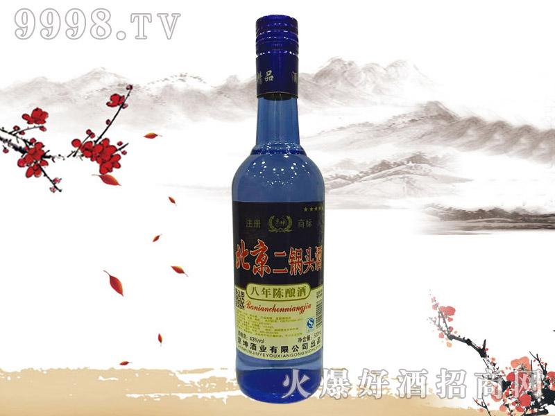 京坤北京二锅头酒陈酿8 500ml