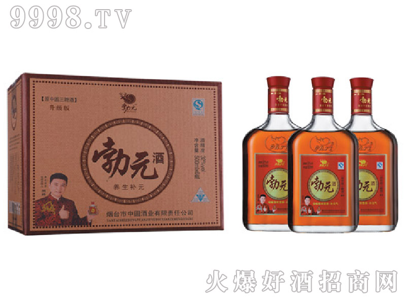 勃元养生补元酒500mlx6