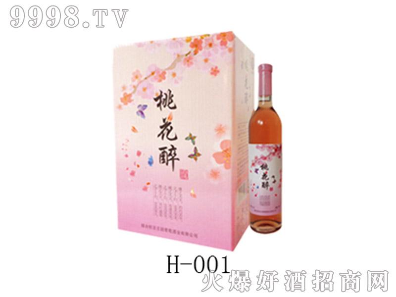 桃花醉(740ml)礼盒
