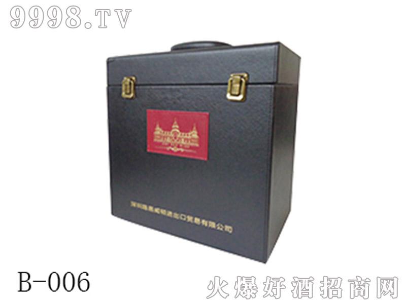 进口6支皮箱包装