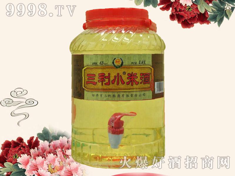 三利小米酒42度5L