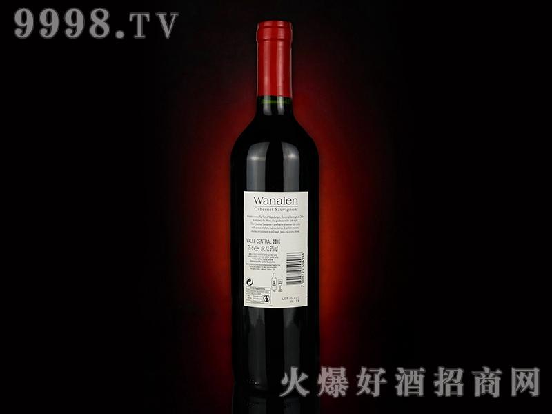 瓦纳伦赤霞珠葡萄酒(背标)