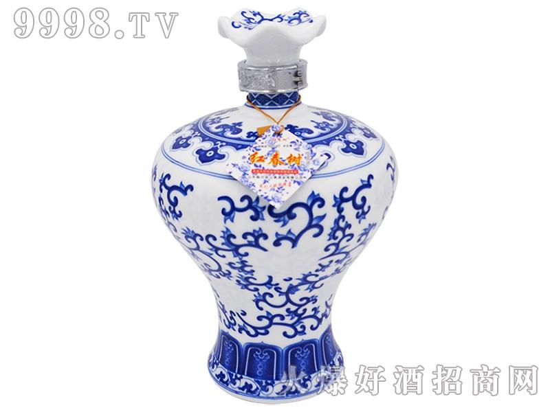 红春树-青花瓷酒