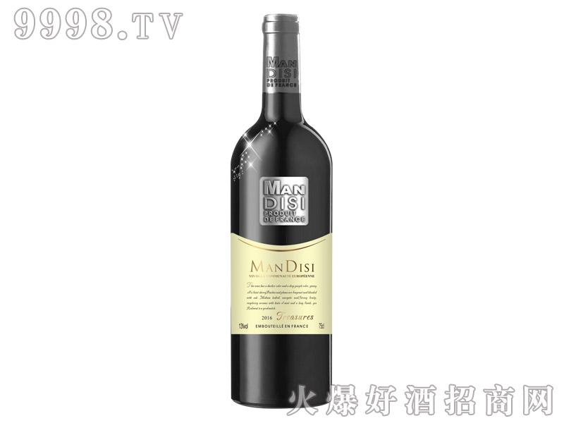 法国进口曼蒂斯珍品红葡萄酒