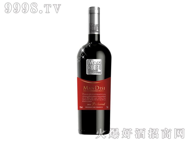 法国进口曼蒂斯优选红葡萄酒