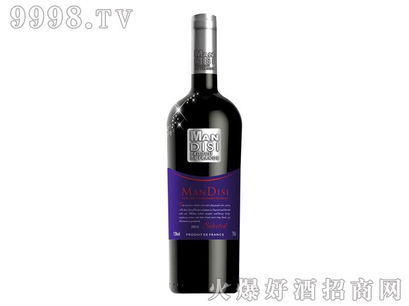 法国进口曼蒂斯精选红葡萄酒