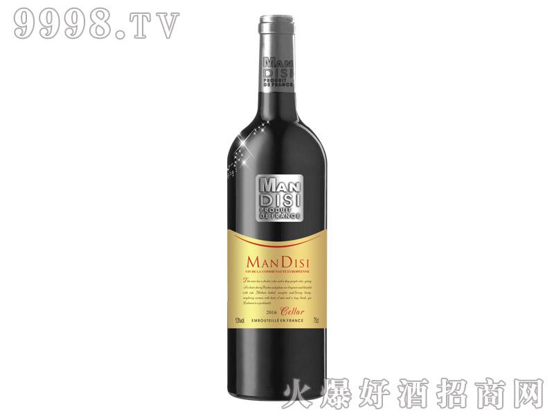 法国进口曼蒂斯窖藏红葡萄酒