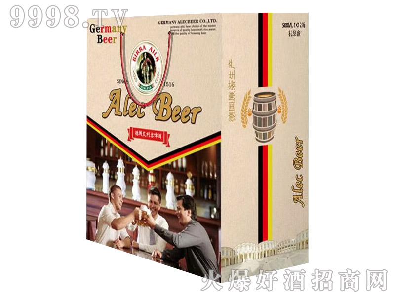 艾利客精品礼盒易拉罐啤酒500mlx12