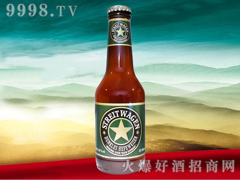 德国战车精酿小麦黑啤酒