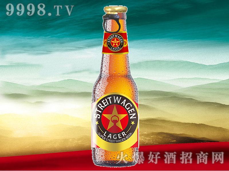 超级战车Lager精品窖藏啤酒