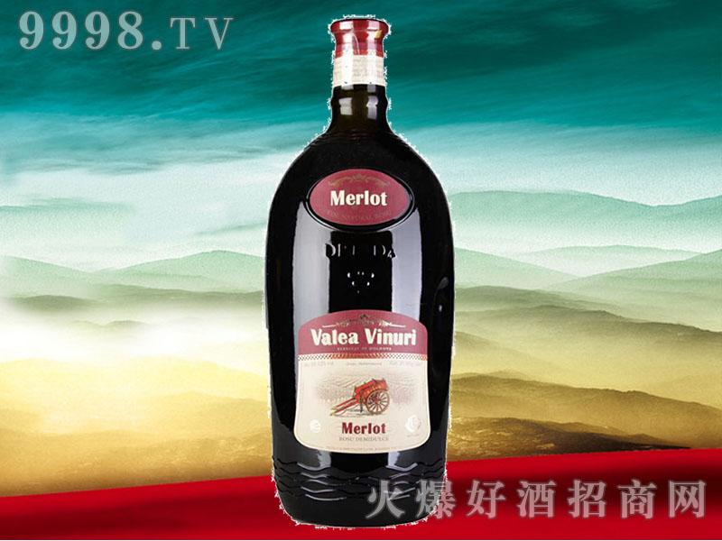 黛��红葡萄酒