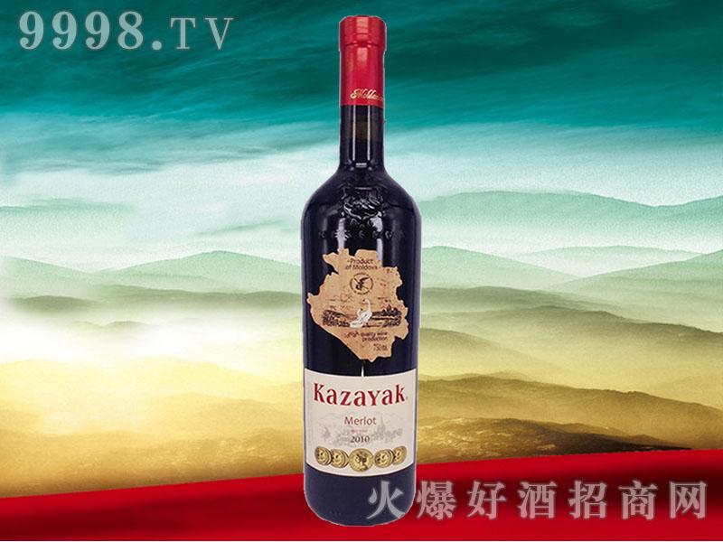 天鹅庄2010年美乐干红葡萄酒