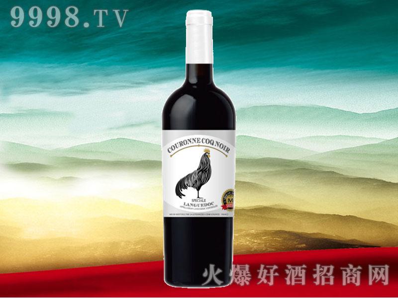 皇冠黑公鸡特酿干红葡萄酒