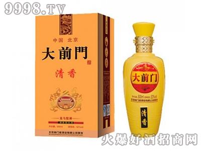 北京大前门酒清香龙马精神52度500ml