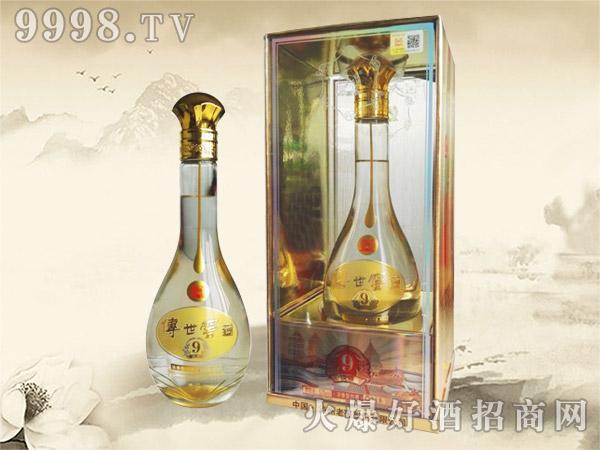传世窖池酒新淡雅9