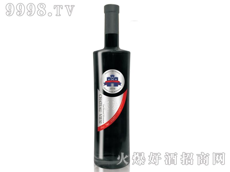 法国维也斯-爱尔伯纳银石干红葡萄酒