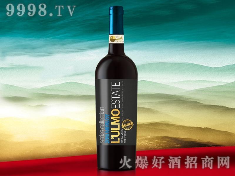 乌摩窖藏美乐干红葡萄酒