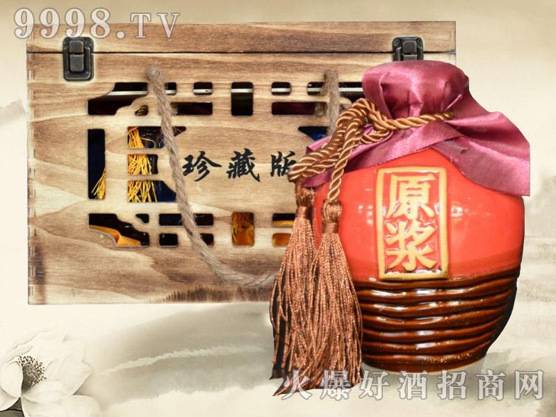 三国原浆酒珍藏版(坛)