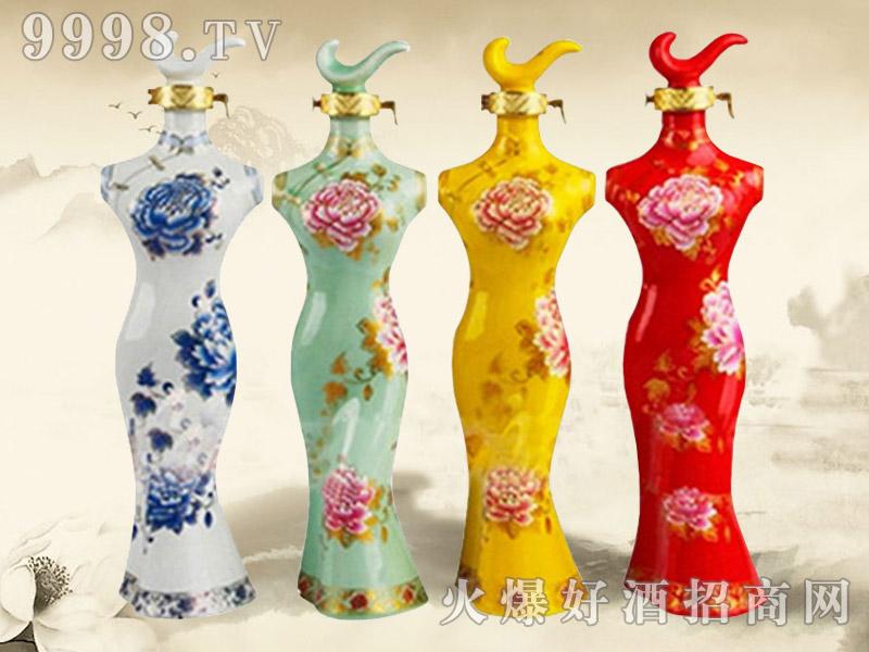 三国原浆酒旗袍(坛)