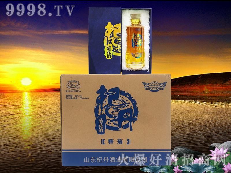 白金菊花酒(簪菊)38°500ml