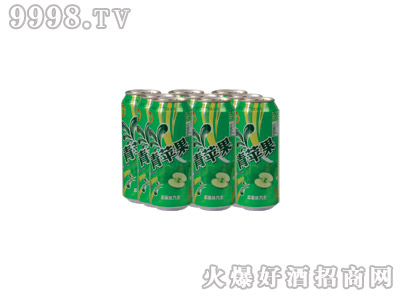 达利园青苹果果味饮料(塑包)