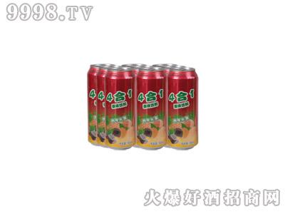 达利园4合1果味饮料(塑包)