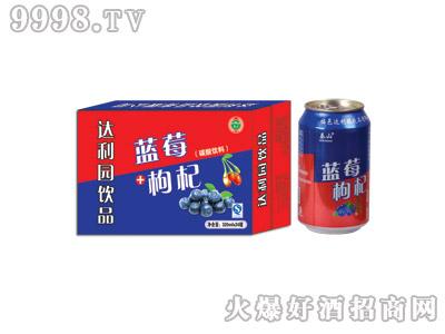 达利园蓝莓枸杞果味型饮料