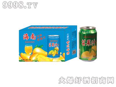 达利园芒果汁果味型饮料(蓝箱)