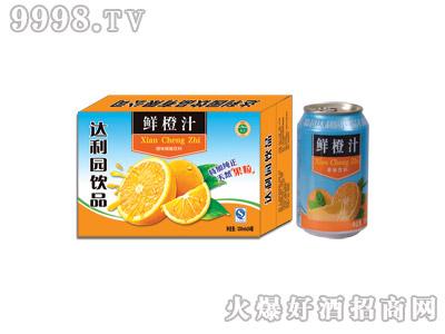 达利园鲜橙汁果味型饮料