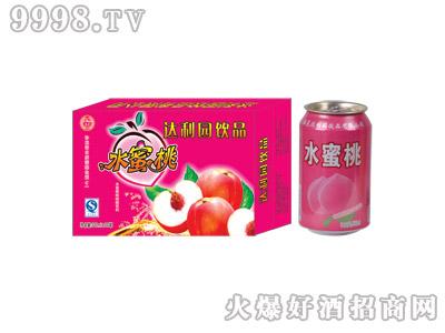 达利园水蜜桃果味型饮料