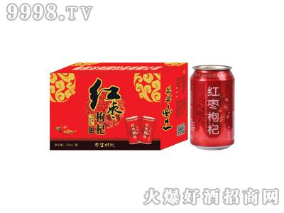 达利园红枣枸杞果味型饮料