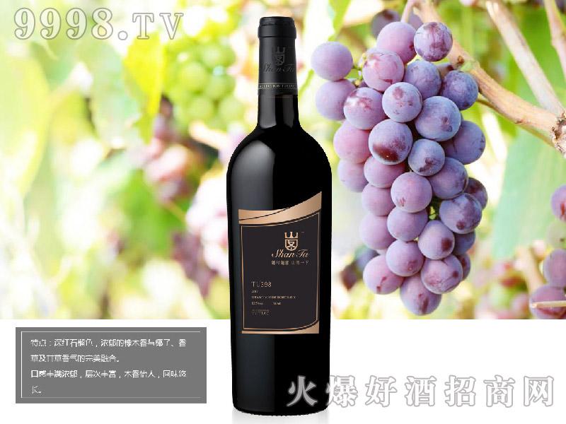 山图干红葡萄酒TU398