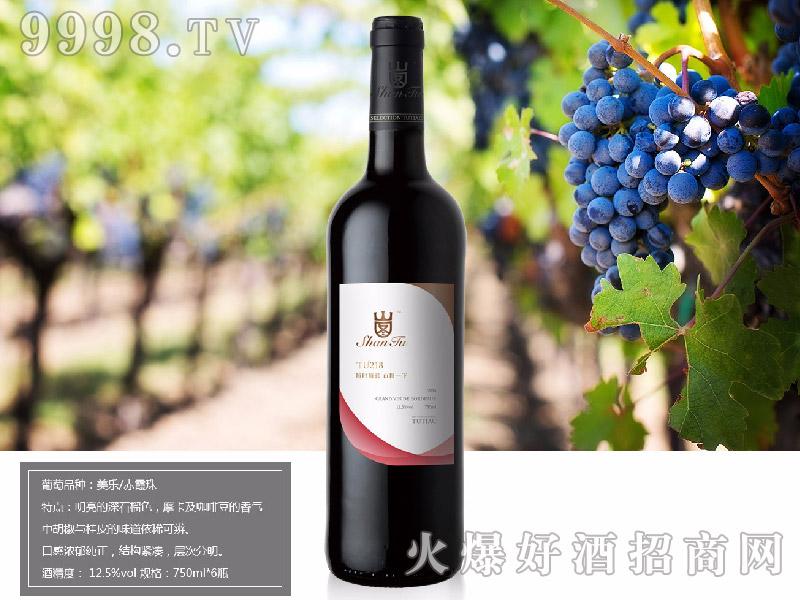 山图干红葡萄酒TU218