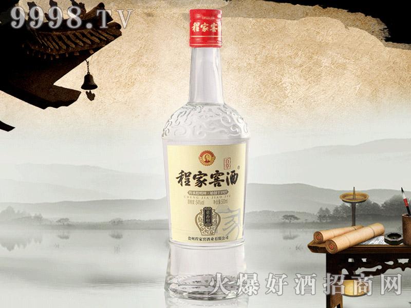 程家窖酒黑牌(老药香)54°500ml瓶