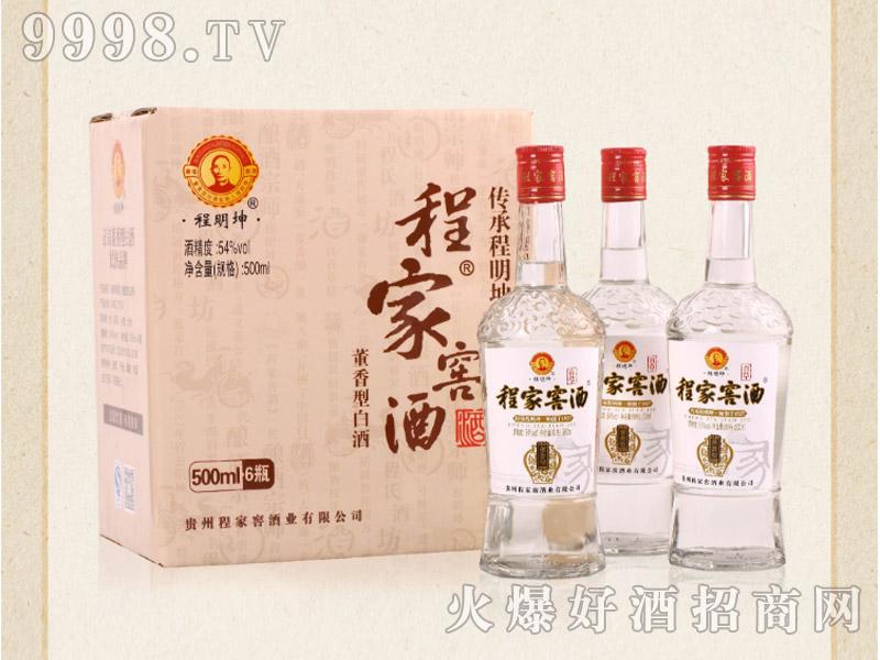 程家窖酒黑牌(老药香)54°500ml×6瓶