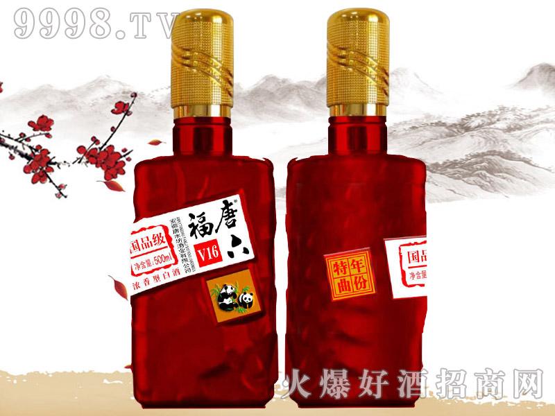 唐六福年份特曲酒国品级V16(红)