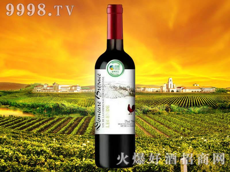 中粮名庄荟布雷萨斯古堡・传说干红葡萄酒
