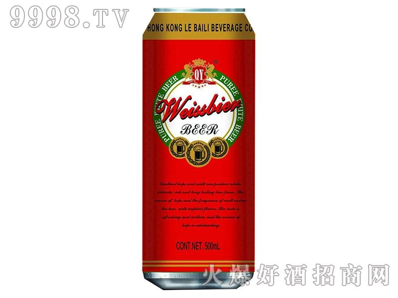 皇威白啤酒(红罐)