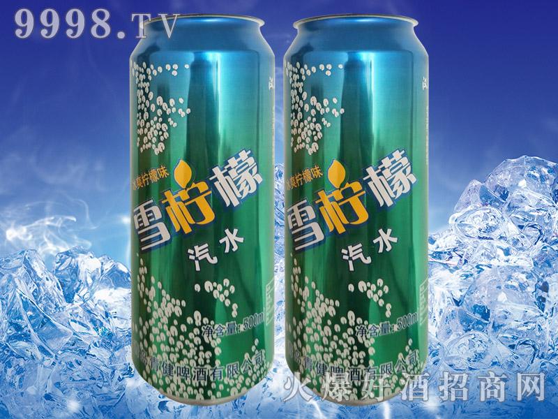 雪柠檬汽水500ml