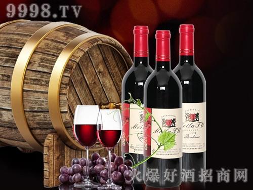 法国原酒进口美拉图美乐干红葡萄酒