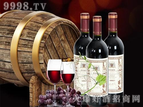 美拉图美乐干红葡萄酒60树龄