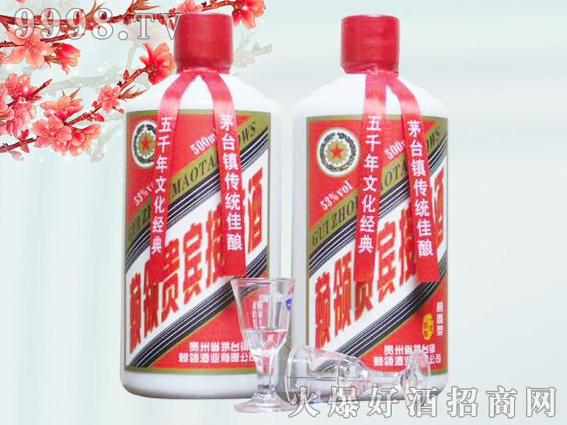 贵州赖领接待酒(裸瓶)