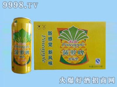 鑫利源菠萝啤500mlx24啤酒