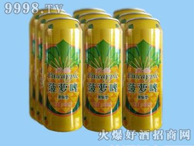 鑫利源菠萝啤500mlx9啤酒