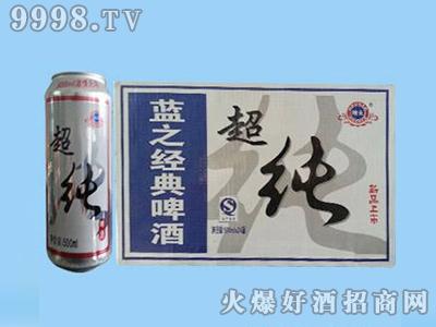 鑫利源蓝之经典超纯啤酒500mlx24