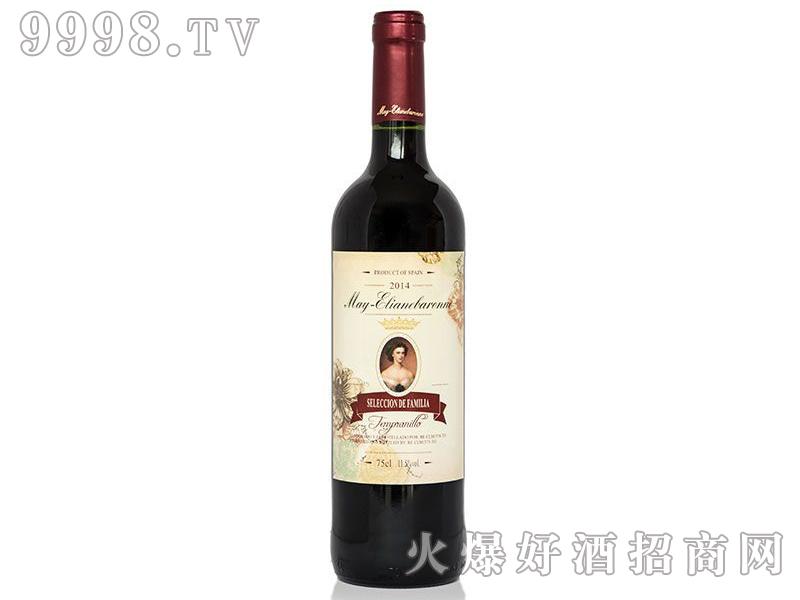 梅・伊利莲女爵干红葡萄酒(家庭精选)