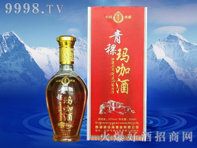藏佳纯青稞玛咖酒500ml