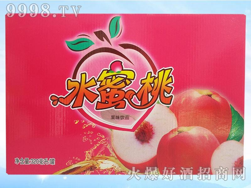 水蜜桃果味320毫升罐